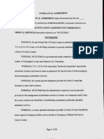 Unicoi County Ambulance Interlocal Agreement