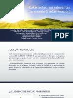Catástrofes Mas Relevantes Del Mundo (Contaminación)