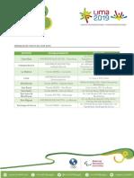 Módulos de Venta de Entrada Para Los Juegos Panamericanos Lima 2019