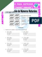 Multiplicación de Números Naturales Para Quinto de Primaria