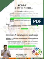 Uso de Recursos y Estrategias Metodologicas