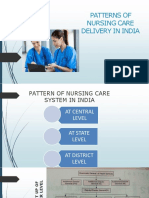 Patterns of Nursing Care Delivery