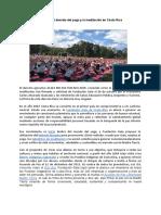 Historia Del Decreto Del Yoga y La Meditación