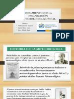 Lineamientos de La Organización Meteorológica Mundial