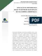 Aplicação Da Metodologia Dmaic No Setor de Manutenção de Uma Empresa Siderúrgica