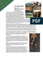 Actividades Productivas y Recursos Naturales en Centroamérica