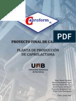PFC Caproform Part01