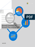 PowerApps and Flow Licensing Guide