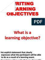 Terminal vs Enabling Objectives