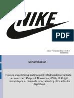 estructura y diseño organizacional de nike