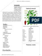 Capsicum Annuum - Wikipedia, La Enciclopedia Libre