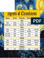 Agents of Cleanliness