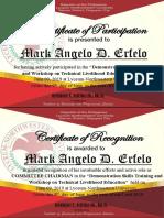 Certificate March 2