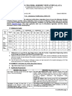 Admission UG Ag 1Part II L 292