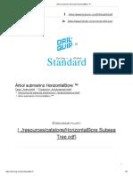 Árbol submarino Dril-Quip HorizontalBore ™