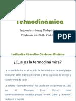 TERMODINAMICA Ingeniero Jerry Delgado