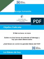 Curso para Aspirantes a Dirigencias Municipales del PAN Tema_2_Liderazgo Humanista-Julio Castillo López