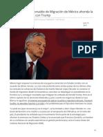Elpais.com-La Salida Del Responsable de Migración de México Ahonda La Crisis Tras El Pacto Con Trump