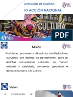 Curso para Aspirantes a Dirigencias Municipales Plan de Trabajo Cultura