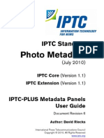 IPTC PLUS Metadata Panel UserGuide 6