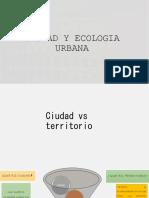 Ciudad y Ecologia Urbana