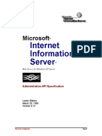 Teched 95 Gibraltar server comparison (Microsoft design document)