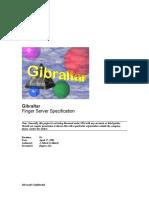 Client Gibraltar server comparison (Microsoft design document)