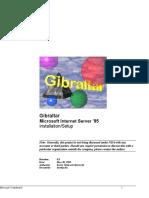 Is Admin Gibraltar server comparison (Microsoft design document)