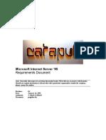 memo2 Gibraltar server comparison (Microsoft design document)
