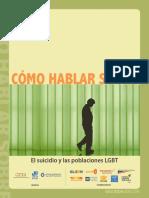 Como Hablar Sobre El Suicidio y Las Poblaciones Lgbt Segunda Edicion