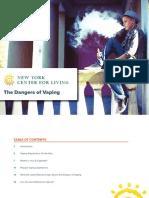 Centerforliving.org Dangers of Vaping