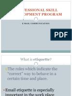 PSDP - Email Etiquette - Copy.ppt