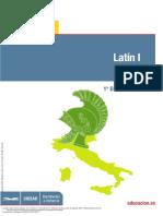 Latín I. 1º Bachillerato (Pg 1 145)