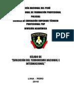 7 Evolucion Del Terrorismo Nacional e Internacional Ultimo