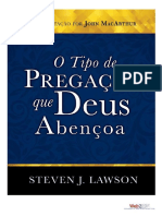 o Tipo de Pregaao Que Deus Abenoa Steven j Lawson
