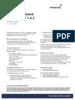 FleetBroadband LaunchPad Version 1.4.3_ Briefing Note