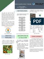 POSTER Elaboracion de Licor a Partir de La Papa-Comunidad de Choppca Huancavelica