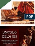 15. Lavatorio de Piues Por Los Santos