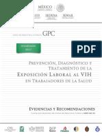 Prevención, Diagnóstico y Tratamiento de La Exposición Laboral Al VIH en Trabajadores de La Salud