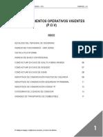 Procedimientos Operativos Vigentes (Pov)