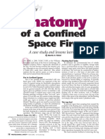 Anatomy of a Confined Space Fire