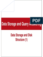 Data Storage and Querying Answering
