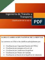 CLASIFICACIÓN DE LA RED VIAL EN ECUADOR