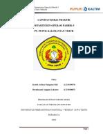 355697402 Laporan Kerja Praktik Pabrik 5 Pupuk Kalimantan Timur