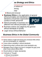 Ethics and Business Strategy