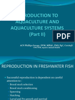 Animal Production- Introduction to Aquaculture and Aquaculture Systems Part II Final-updated April 2019 (1)