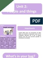 Unit 2 - Lesson 1&2