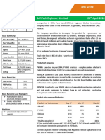 Arihant Capital IPO Note on SoftTech Engineers Ltd.