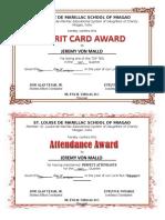 Certificates 15 16