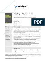 Strategic Procurement Booth